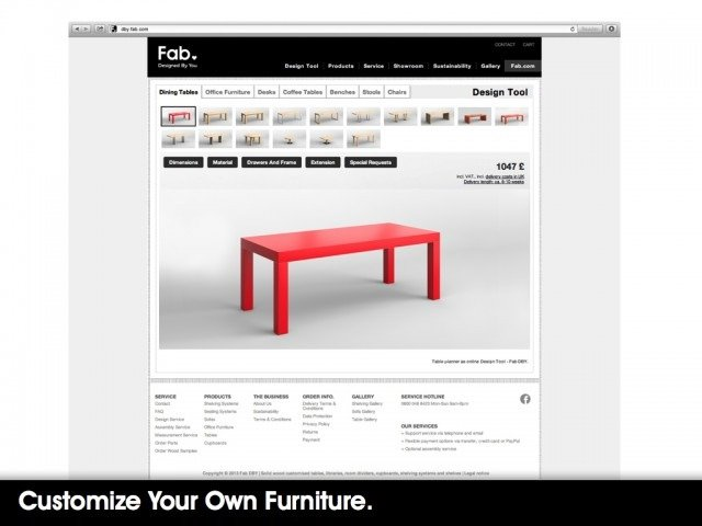 fabb sofas opens debut store and launches website interior website Fab claims it is now the largest design store online, offering 33% more  products than Ikea.com. And now itu0027s heading offline, opening its first  store in ...